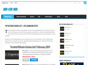 Bitcoin Gambling Sites