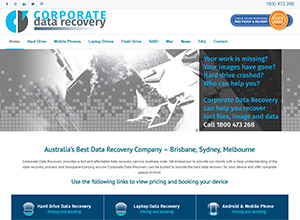 Corporate Data Recovery