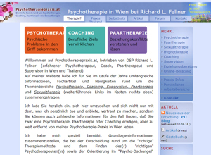 Psychotherapy in Wien bei Richard L. Fellner