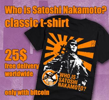 Who is Satoshi Nakamoto? t-shirt